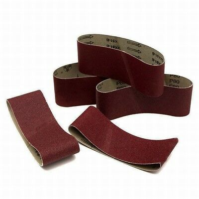 75x457mm Size Sanding Belts 40~1000 Grit For Wood Metal Grinding Sander Tool