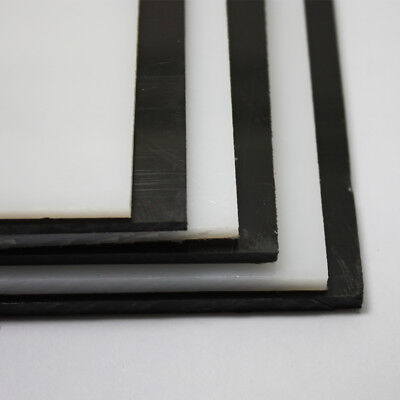 HDPE Sheet Black And White Polyethylene Engineering Plastic Sheet 3/4/5mm Thick