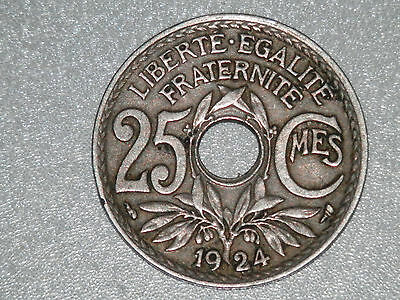25 centimes - France - 1924 - SUP - KM#867a