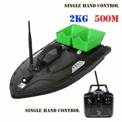 RC drahtlose Fischköder Boat Double Motors 500m Fish Finder Einhandbedienung