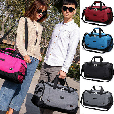 XL Waterproof Overnight Tote Travel Gym Sport Bag Duffle Carry On Luggage