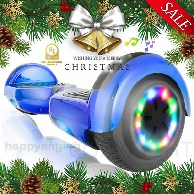 6,5 Zoll Hoverboard E-Skateboard Self-Balance Scooter Bluetooth Offroad LED 4set