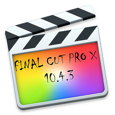 [NEW][Final Cut Pro X 10.4.4][Instant Download][Lifetime License][2018][NEW]