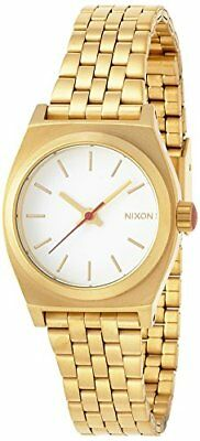 NIXON SMALL TIME TELLER ALL GOLD NA3992029-00 Women's Wristwatches JAPAN :281