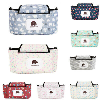 Maternity Mummy Organizer Pouch Stroller Nappy Diaper Hanging Storage Bag Ornate