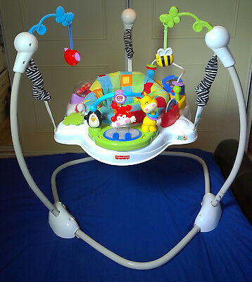 Fisher-Price Discover and Grow Jumperoo Baby Jumper Rocker Swing Bouncer