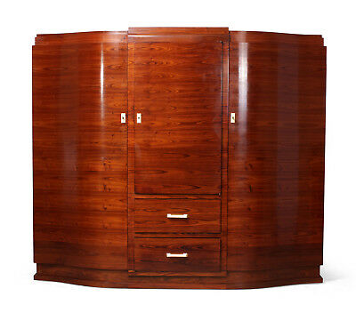 Art Deco cabinet in rosewood by Jules Leleu