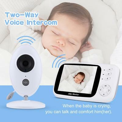 "3.5"" Wireless Digital Video Recorder Camera Baby Monitor Audio Security Device"