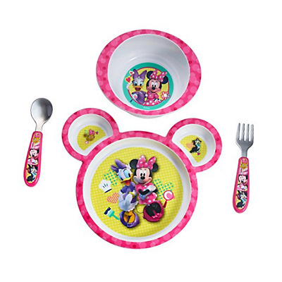 The First Years Disney Baby Minnie Mouse 4-Piece Feeding Set 01G9069
