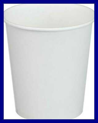 White Paper Water Cups 3 OZ 100/Pack PINK CUPCAKE Each Office Kitchen
