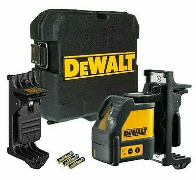Dewalt DW088K 2 Way Self-Levelling Ultra Bright Cross Line Laser