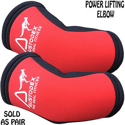 Austodex elbow Sleeve Power lifting Weight lifting elbow (pair)  Protector