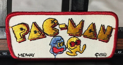 Vintage Pac-man Patch 1981 Midway