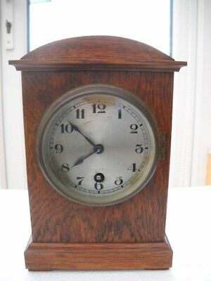 German Winterhalder & Hofmeier Mantel Clock In G.wo.