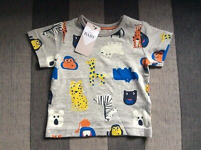 M&S Baby T Shirt 3-6 Months (new)