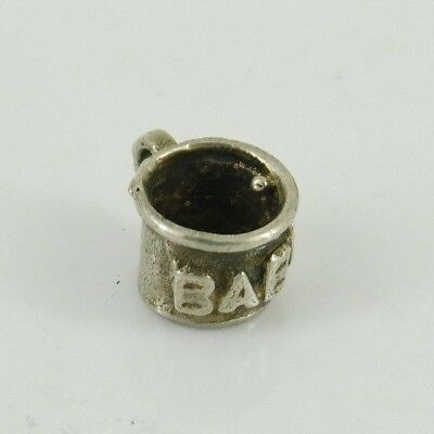 Vintage / Antique Sterling Silver Baby Cup Charm
