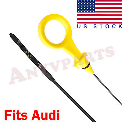Engine Oil Dipstick For Audi A4 A4 Quattro A5 Quattro 2.0T B8 & B9 2009-2017 New