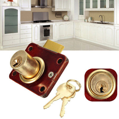 F768 Durable Buckles Drawer Lock Zinc Alloy Practical Cabinet Lock
