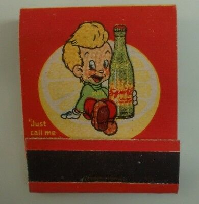 Advertising SQUIRT MATCH COVER Beverly Hills CA Bottling Plant GRAPEFRUIT DRINK