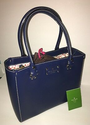 KATE SPADE WELLESLEY QUINN Medium -French Navy