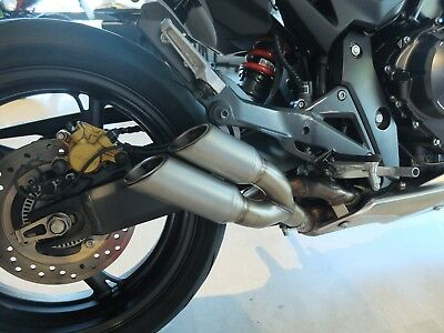 Honda CBR 600F 2011-14 GPR Thunder Slash Terminale Scarico Racing Exhaust New