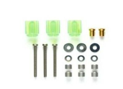 Tamiya Mini 4Wd Hi Mount Tube Stabilizer Set (Clear Green) - Item 95440