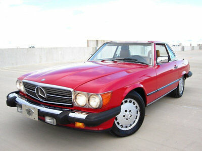 1987 Mercedes-Benz 560SL 560 SL SL $15,500 INCLUDES SHIPPING! Florida nonsmoker garaged princess XLNT CONDITION!