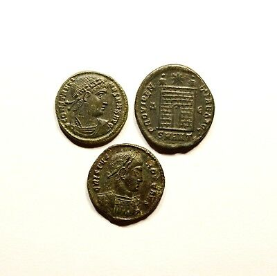 Stunning Lot Of 3 Roman Imperial Coins - Nice Quality