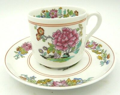 Spode Copelands China - Tea Cup and Saucer - Famille Rose - Made in England