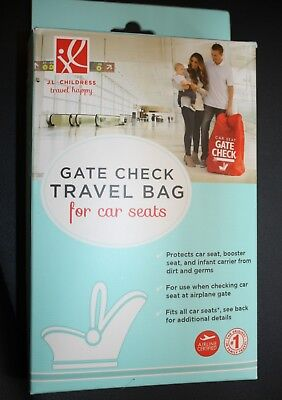 JL Childress Gate Check Travel Bag For Car Seats Red