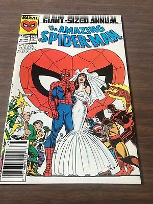 Nm  Spider-Man Annual #21- Spidey Gets Married