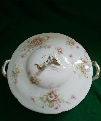 Antique Theodore Haviland China Limoges France Patent Applied For Round Serving