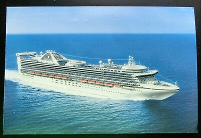"Post Card ~ Princess Cruises 2002 ""STAR PRINCESS"" ""where I belong®"" 6x4"