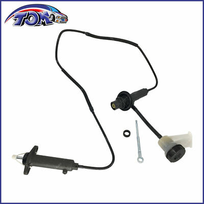 New Clutch Master And Slave Cylinder Assembly Fits 94-97 Dodge Ram 2500 3500
