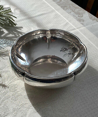 Kalo Shop Hand Wrought Arts & Crafts Antique Sterling Silver Bowl