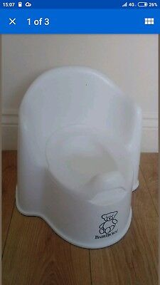 BabyBjorn Potty Chair with Backrest and arms to hold RRP £29.99  BPA-free