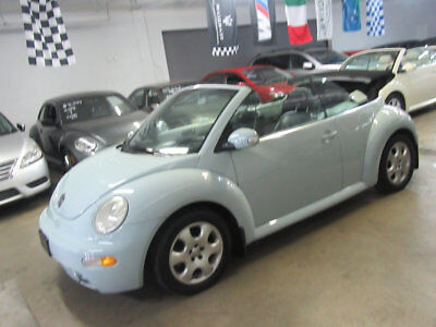 2003 Volkswagen New Beetle Convertible 2dr Convertible GLS Turbo Automatic $7300 includes shipping 54,000 MILES 1 OWNER CLEAN CARFAX NONSMOKER GARAGEKEPT