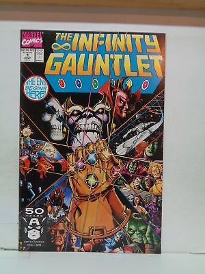 the infinity gauntlet # 1 1991