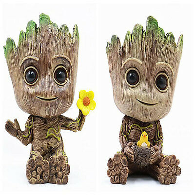 14cm Guardians of the Galaxy Baby Groot Figur Spielzeug Blumentopf Stift Pot