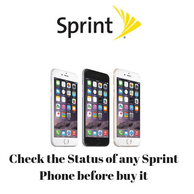 Check if your Sprint Phone is CLEAN, UNPAID BILL or BLACKLIST (Lost or Stolen)