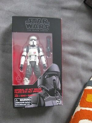 """Star Wars The Black Series Imperial At-ACT Driver Pilot 6"""" Rogue One"""