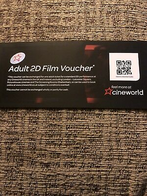 cineworld cinema tickets 4 Adult 2D And free Drink And Popcorn Tickets (4) 2020
