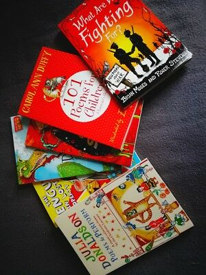Poetry books for kids - 6 brand new books