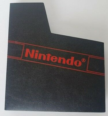 Official Original Nintendo NES Dust Cover Sleeve With Red Logo