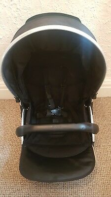 Babystyle Upper Oyster Black Max Seat Unit Fits Max 1&2 + Oyster 1&2 Read Descri