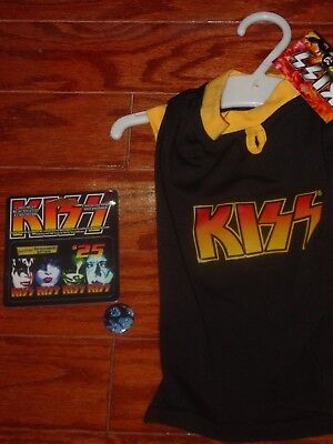 Kiss Gene Simmions Vault Gift  Dog T Shirt Gift Card And Creatures Button
