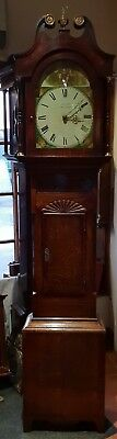 Antique Grandfather Clock by R.N.Cox of Pickering. - Delivery arranged