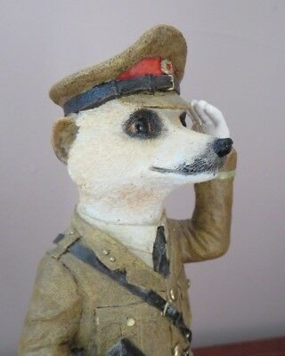 Country Artists Magnificent Meerkats - Monty - Army Captain CA02900 - 2010