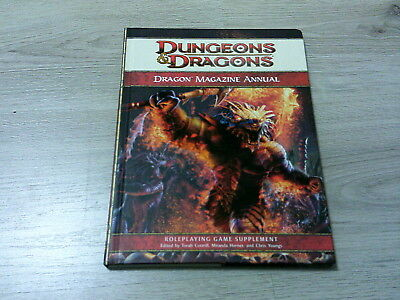 D&D 4th Edition Dragon Magazine Annual 2009 Hardcover WotC VG