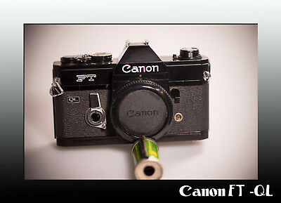 Clean Canon FT ql in black  USA seller